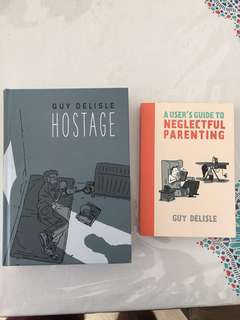 Two wonderful books by award winning cartoonist Guy Delisle
