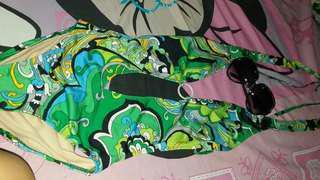 One piece swim wear