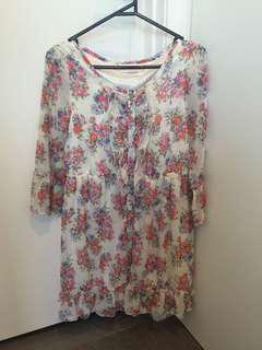 Flora dress in mint condition