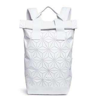 32e9f5097038 Adidas Issey Miyake White Backpack Restocked