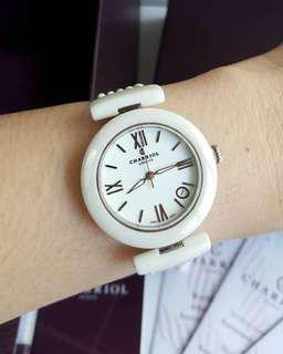 Charriol with rubber strap (authentic)