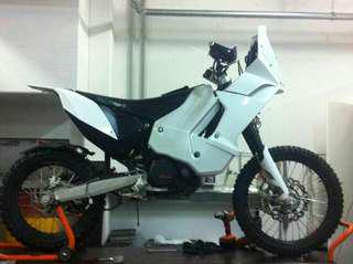 KTM 690 Rally project