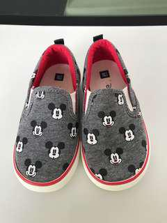 Mickey mouse slip on