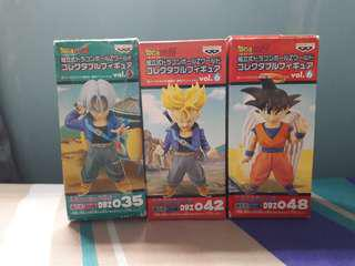 DWC Trunks, Super Trunks & Wing Goku *RARE*