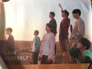 Poster BTS TEAR original