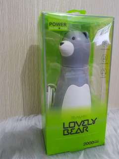 Powerbank + Fan Lovely Bear