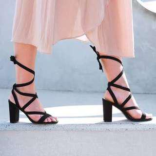 Size 8 Lace Up Heels