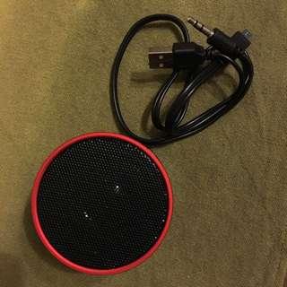 🚚 [全新]MUSIC mini speaker USB 迷你音響