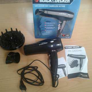 Black & Decker Hair Dryer SC900