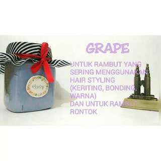 Creambath grape utk  rambut yg sering diwarnai dan utk rambut rontok, free ongkir, yu pesan