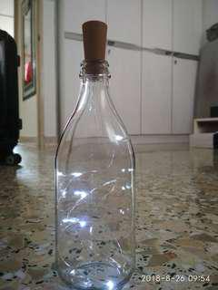 DIY Bottle With Lights.