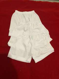 brand new baby white clothes