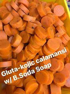 Gluta Kojic Calamansi w/ Baking Soda Soap 280 each kilo (20pcs already)