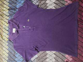 Purple Original Lacoste for Ladies, sports t-shirt