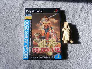 Sega Ages 2500 Golden Axe 戰斧 PS2 PlayStation 2