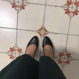🚚 台灣製氣墊女跟鞋*23號