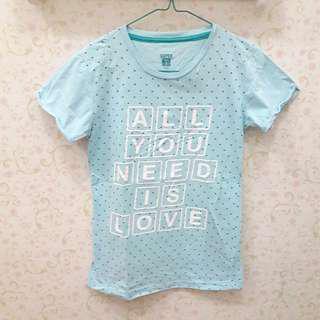 Baju Kaos Atasan Perempuan size S Merk Super-T (Matahari Dept.)