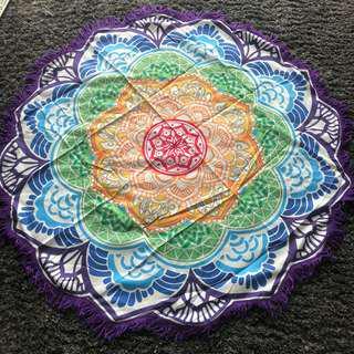 Tapestry Mat & Fairy Lights Set