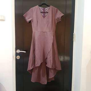 Yuan Clothing Asymmetrical Dress