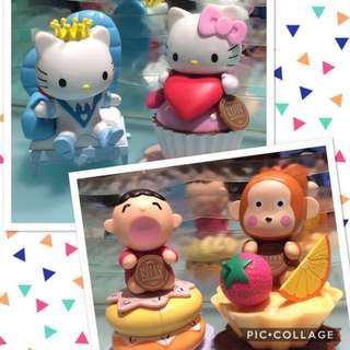 $68 Hello Kitty n Friends Sanrio Cupcakes