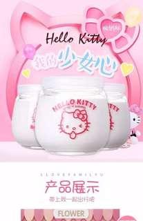 Hello Kitty Yogurt Bottle