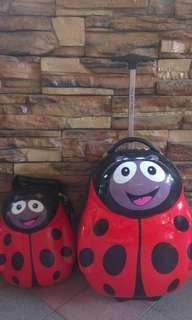 Kids Luggage Ladybird