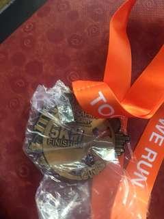 Ahm 5km medal