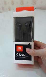 Original JBL C100SI in-Ear Headphones