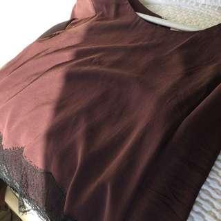 Aritzia wilfred desaix blouse sz medium