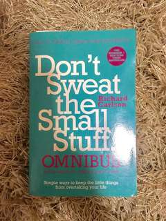 Don't Sweat the Small Stuff (book)