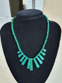 Sale: Malachite Necklace