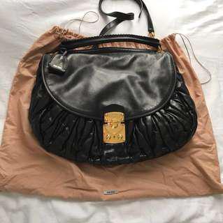 05d8e863b9ca Miu Miu Matelasse large Coffer bag hobo bag