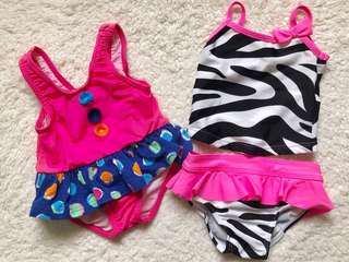 Girls Swimwear (3-6months)