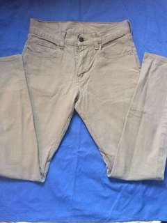 Original Levi's Jeans Khaki Size 27