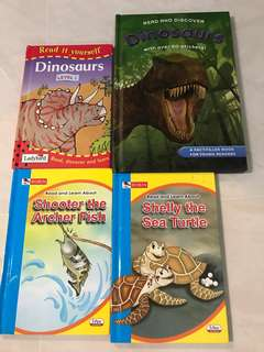 🚚 Books on animals and dinosaurs