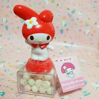 Sanrio License My Melody Money Box with Candy