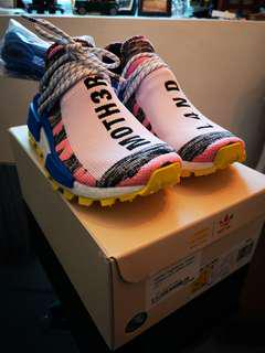 Pharrell x Adidas NMD Hu MOTH3R BB9531 Solar Pack US 7.5