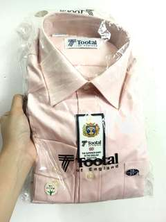 TOOTAL Blush Pink Long Sleeves Polo