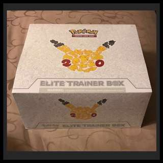 POKEMON - Elite Trainer Box - 20th Anniversary