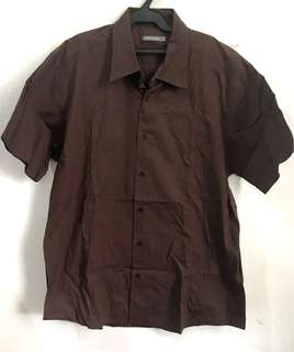 SPRINGFIELD Brown Short Sleeves Polo