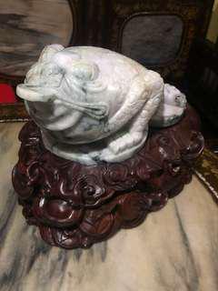 vintage jade craft