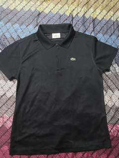 dark blue sports t-shirt, Lacoste , original