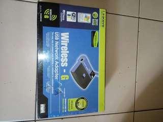 Wireless-G USB network Adapter