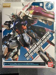 日版 台場限定 MG 突擊高達 透明版 The gundam base limited