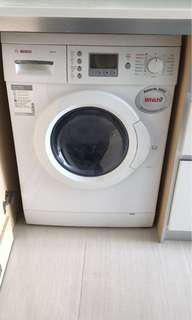 Bosch washing/dryer machine