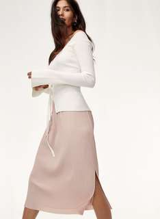Aritzia wilfred celesse skirt size medium