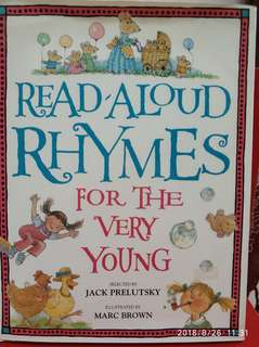 🚚 Read Aloud Rhymes for the very Young