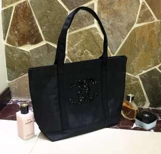 Chanel 化妝 櫃贈品  環保袋