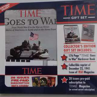 TIME Collector's hard cover - TIME Goes to War