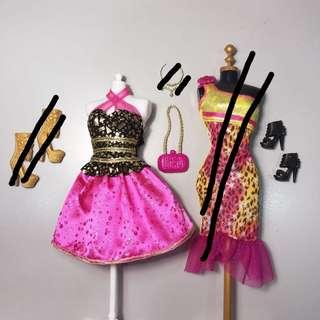 Barbie Glam Fashionistas Clothes